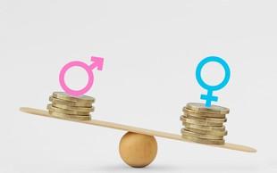 Kljub zakonom proti plačni neenakosti po spolu, se v Sloveniji vrzel veča