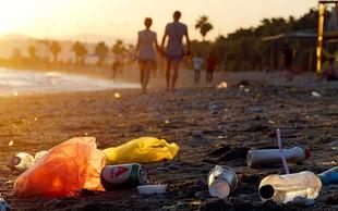 Sredozemske države s plastičnimi odpadki po mačehovsko v morje!