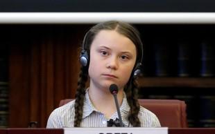 Mlada okoljska aktivistka Greta Thunberg prejemnica nagrade Amnesty International