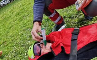 Urgentno reševanje: Nad bolečino z zeleno piščaljo