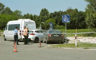 Groza na hrvaški avtocesti: Tovornjak zapeljal v gručo ljudi, umrli sta dve šolarki