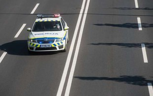 Policisti v okviru akcije Hitrost na pomurski avtocesti izmerili hitrost 203 kilometre na uro