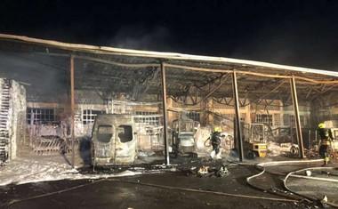 V požaru na Ižanski cesti za 150.000 evrov škode