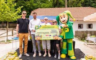 Office&More in Jolly podarila 1000 barvic Zvezi Sonček