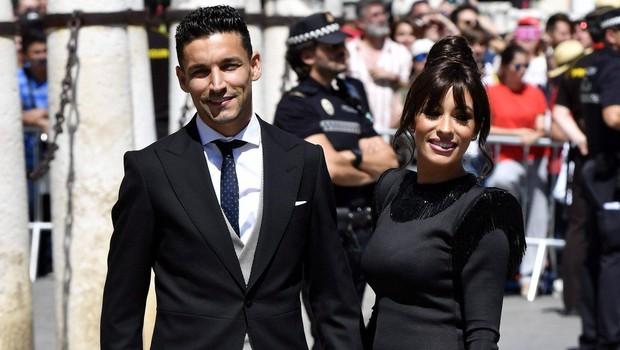 Španska poroka leta: Nogometaš Sergio Ramos je popeljal pred oltar igralko Pilar Rubio (foto: profimedia)