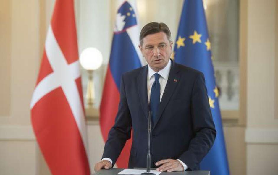 Ob dnevu državnosti številne čestitke tujih državnikov (foto: Bor Slana/STA)