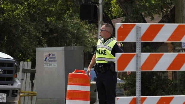 Napadalec na sodišče v Teksasu končal pod točo strelov (foto: Profimedia)