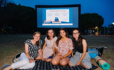 Otvoritev Piknik kina Bežigrad tokrat z ekskluzivnim dogodkom
