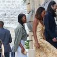 Družinska idila Baracka Obame: Z ženo in postavnima hčerkama uživa na jugu Francije