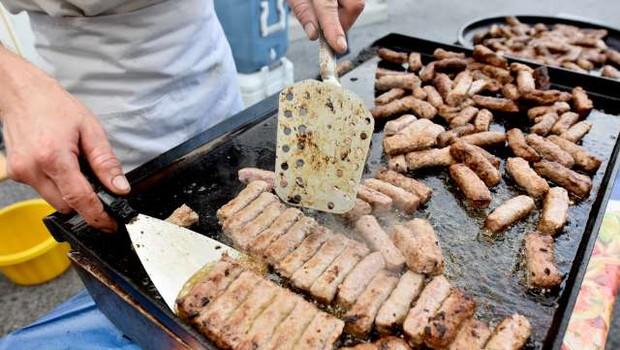 V sezoni piknikov bodite pozorni na pravilno pripravo hrane (foto: STA/Tamino Petelinšek)