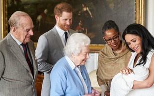 Kraljica Elizabeta II. ne bo prišla na krst najmlajšega pravnuka Archieja!