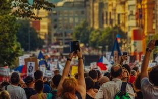 Na praške ulice se je vsulo četrt milijona ljudi, ki protestirajo proti Babišu