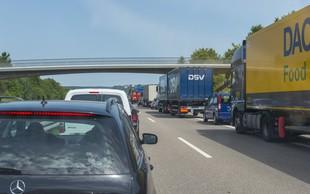 Na nemško avtocesto kar z električnim skirojem