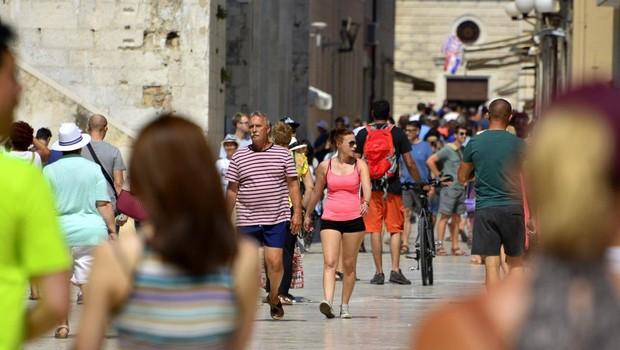 Zadar: Britanski vojaki s svojim nasilnim vedenjem vnesli razburjenje med prebivalce (foto: Profimedia)
