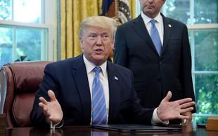 """Donald Trump o migrantih v zbirnih centrih: """"Živijo bolje kot doma!"""""""