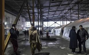 Na Hrvaškem v spopadu med migranti več ranjenih