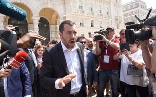 Protestniki na Škofijah so jasno povedali, da so za meje brez zidov