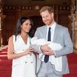 Dvomesečnega sina Harryja in Meghan Archieja so krstili brez oči javnosti