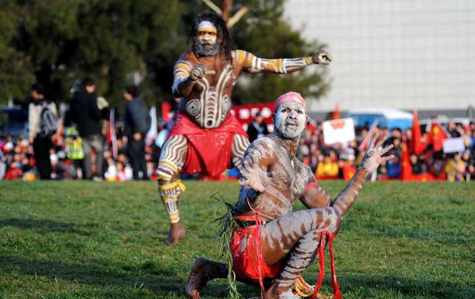 Bodo aborigini priznani v avstralski ustavi? O tem bodo odločali na referendumu (foto: Xinhua/STA)