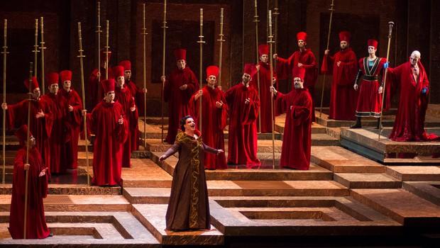 Verdijev Nabucco na Festivalu Opera in piazza – Giuseppe di Stefano v Oderzu (foto: Marko Knehtl)