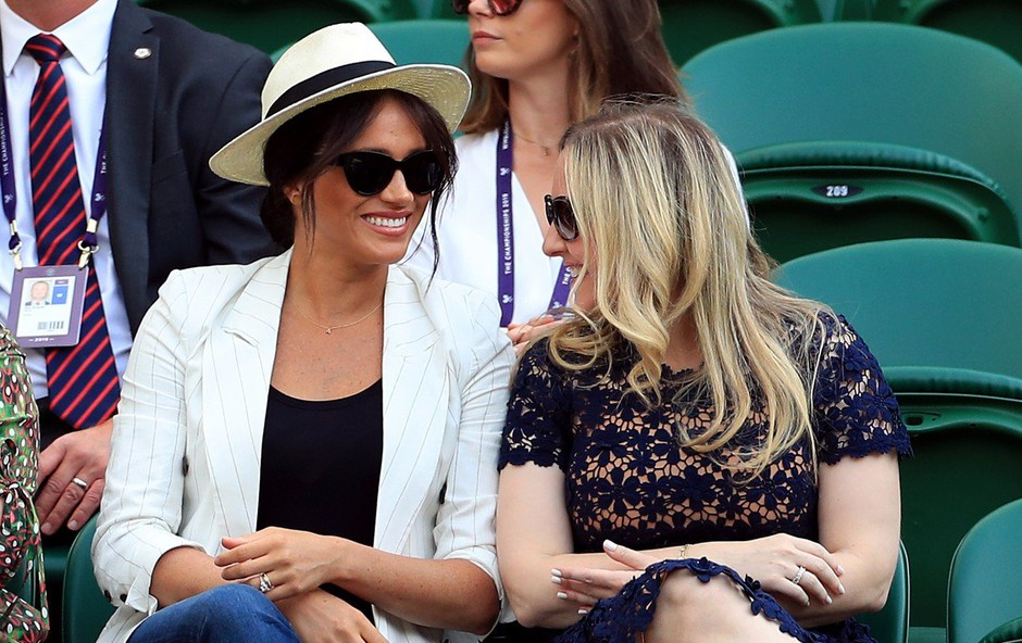 Meghan Markle v Wimbledonu prekršila vsa pravila in vse spravljala ob živce (foto: Profimedia)