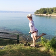 Anji Markovič je zadnja leta, kar se dopusta tiče, pri srcu kamp