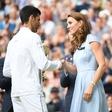 Zmagovalec Wimbledona Novak Djoković: Ko mu je Kate izročila pokal, je s svojo gesto navdušil Britance!