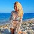 Zapeljiva Brigita Šuler v kopalkah osvaja Jadransko obalo