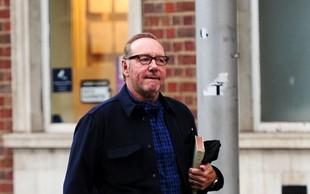 Kazenski pregon igralca Kevina Spaceyja zavržen