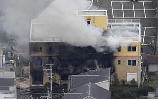 Japonska: Zaradi domnevno podtaknjenega požara več mrtvih v studiu za animacije!