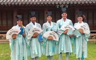 Slovenske plavalce v Koreji domačin povabil na izlet v Gwangjuj