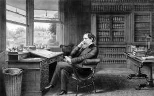 Pogrešani portret Charlesa Dickensa našli na starem vozičku v Južni Afriki