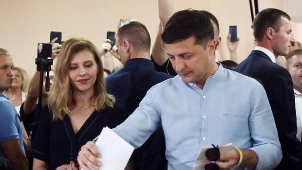 V Ukrajini po pričakovanju največ glasov predsednikovi stranki (foto: profimedia)