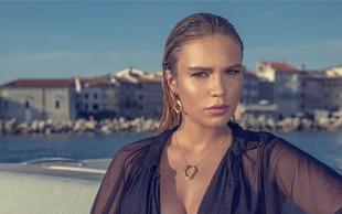 Anamaria Goltes očarala z drznimi kosi nakita!