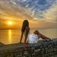 Ingrid Ulaga se je že pred poletjem naužila sonca