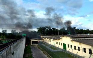 Brazilija: V spopadu tolp v zaporu 52 mrtvih