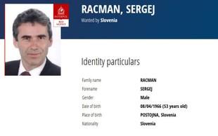 Sergeja Racmana zdaj išče tudi Interpol