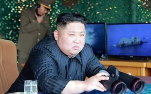 Severna Koreja izstrelila novi raketi