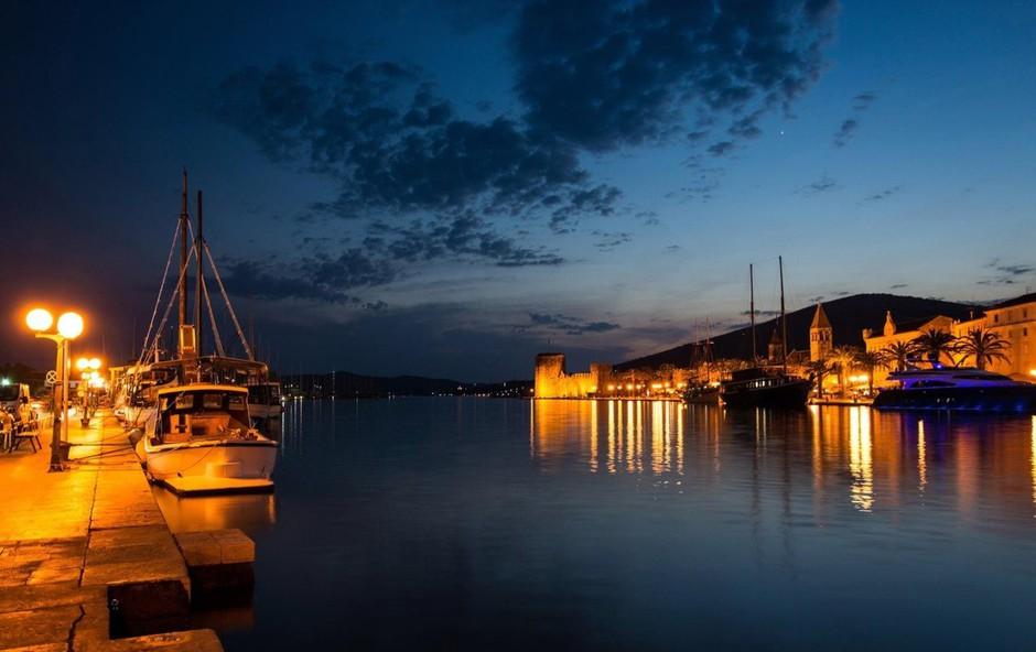 V Dalmaciji sinoči najhujša nevihta tega poletja doslej (foto: profimedia)