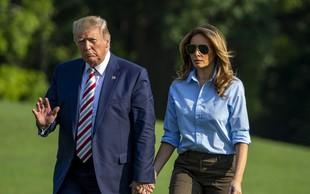 Melania Trump s svojim slogom vedno znova očara!