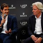 ŠE VEDNO AKTUALEN<br /> Februarja letos ob švicarskem teniškem asu Rogerju Federerju na tiskovni konferenci v Ženevi. (foto: Foto: Profimedia Profimedia, Afp)