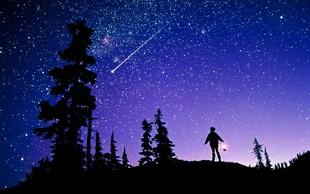 Nocoj poglejte v nebo, eden najbolj znanih meteorskih rojev bo dosegel vrhunec