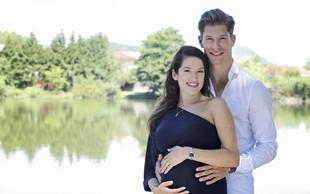Miha Vodičar bo kmalu zibal, saj z ženo Kristino pričakujeta fantka