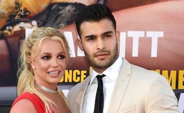 Britney Spears s svojim izbrancem, manekenom Samom Asgharijem.