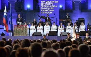 Proslava ob stoletnici priključitve Prekmurcev z matičnim narodom