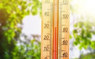 Danes še pretežno sončno in vroče, v sredo so možne plohe in nevihte