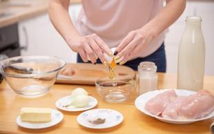 Kako ubiti jajce, ne da bi v posodo padli tudi drobci lupine