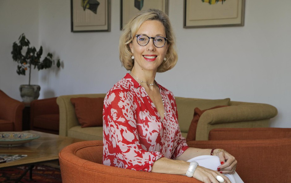 Življenjepis Florence Ferrari, francoske veleposlanice v Sloveniji, se bere kot filmska zgodba (foto: Foto: Aleksandra Saša Prelesnik)