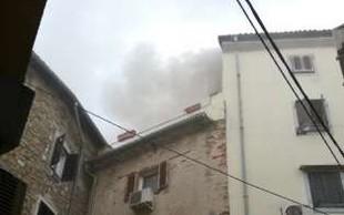 Zagorelo v stanovanjski hiši v Piranu, štiri osebe v bolnišnici