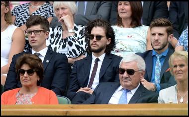 LJUBITELJ TENISA<br /> Na turnirju v Wimbledonu.